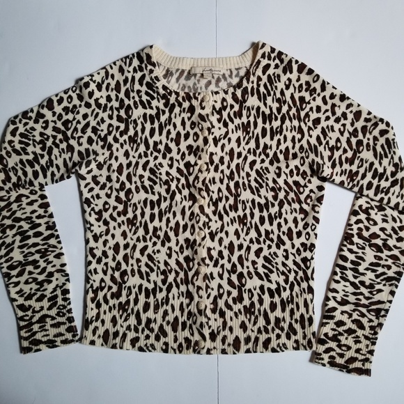 0c5641fb2449 Forever 21 Sweaters - 🌻 Cheetah Leopard Spot Animal Print Sweater Large